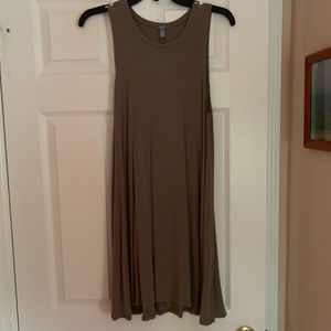 Olive / Army Green Tank Dress